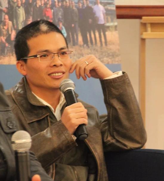 中国油画院青年教师林建寿先生致辞