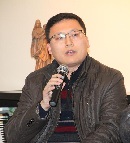 中国人工智能学会语言智能专业委员会副秘书长张凯先生致辞