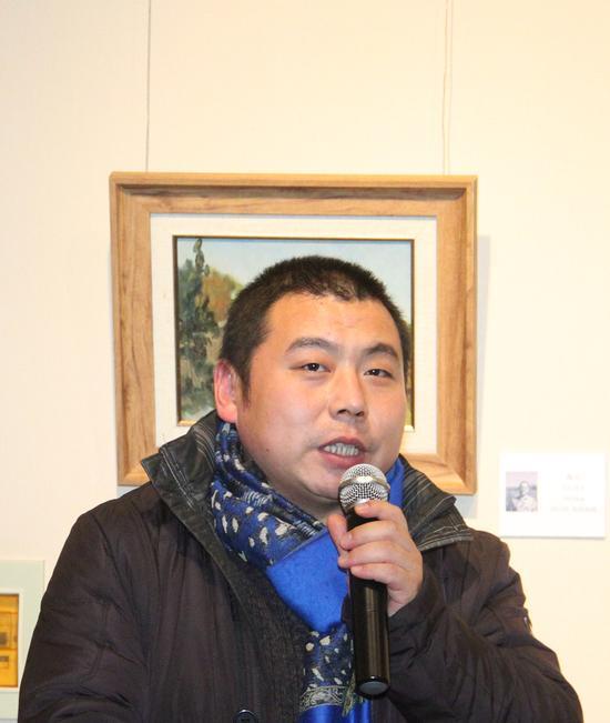 参展画家牛青山讲述写生创作心得