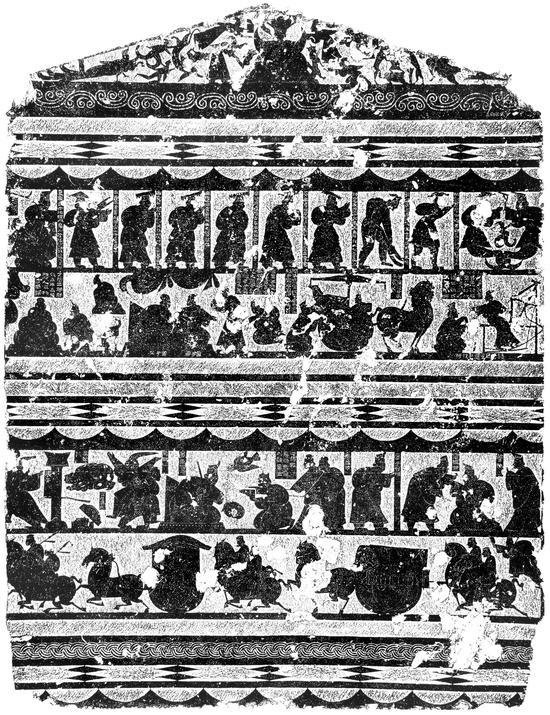 山东石刻艺术博物馆226x150武梁祠西壁