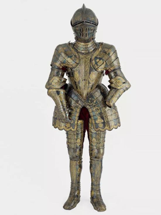威尔士王子的盔甲   约1608年制