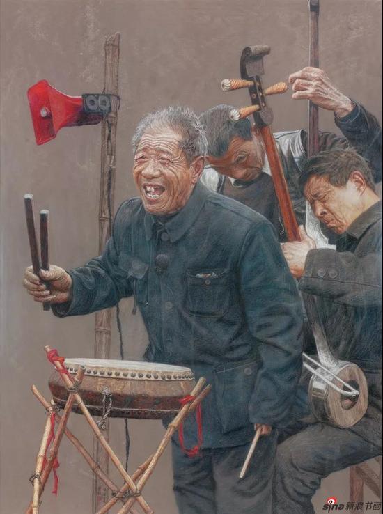 王圣松[河南] 醉书畅吟 160×120cm