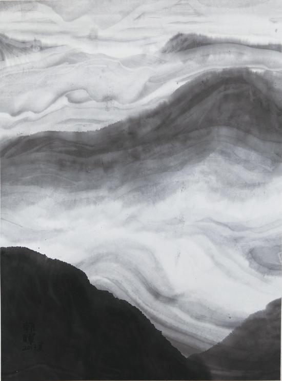 灵山系列,75x52cm, 2013
