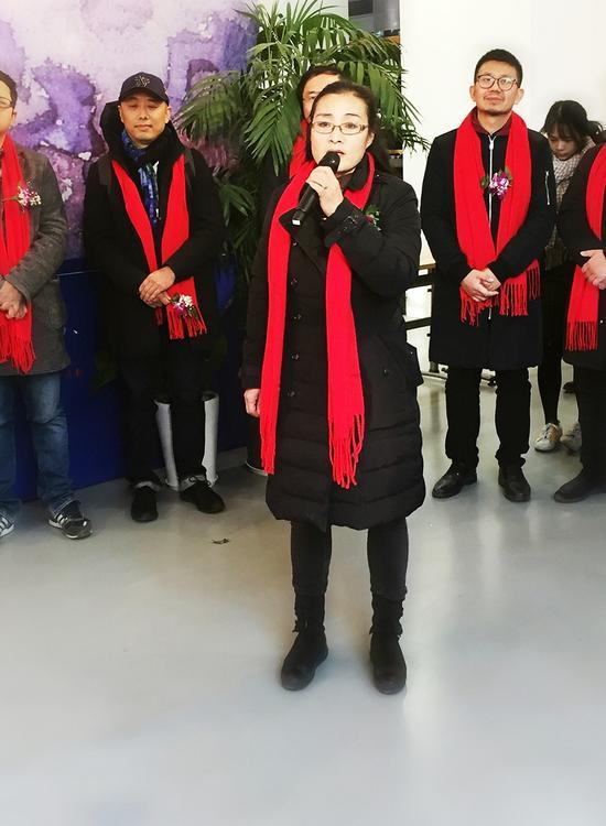 李梅教授致辞