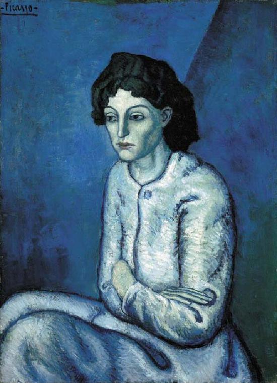 毕加索蓝色时期