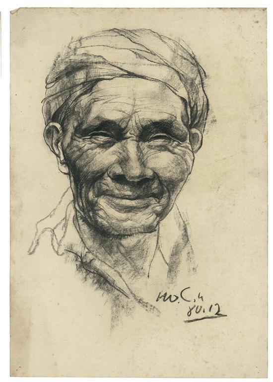 7 父亲手稿 素描 39x27.5cm 1980年12月