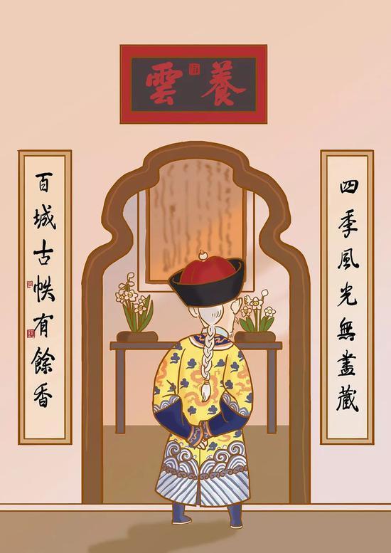 北京皇宫里的年初一:皇帝咋过