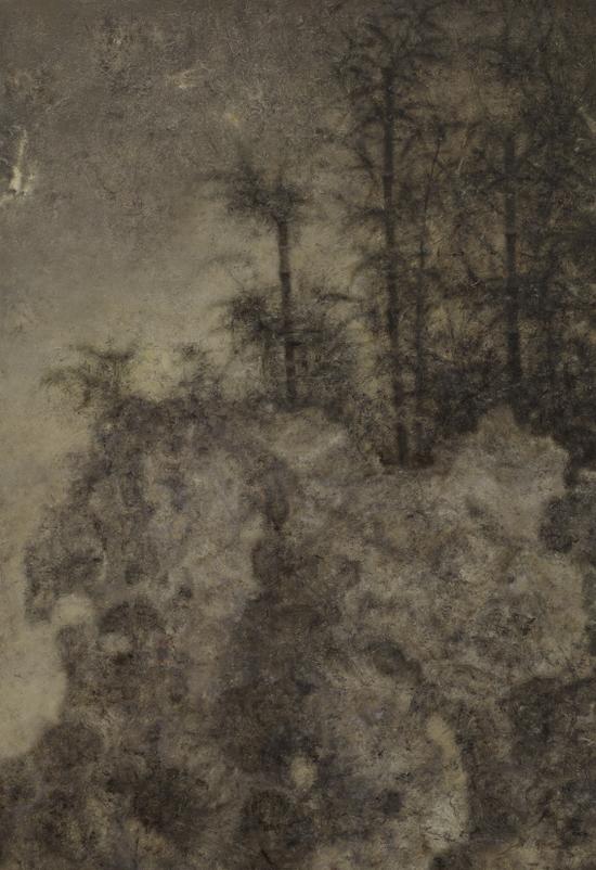景物?园林卷 1606 布面油画 120×80cm 2016年 肖芳凯