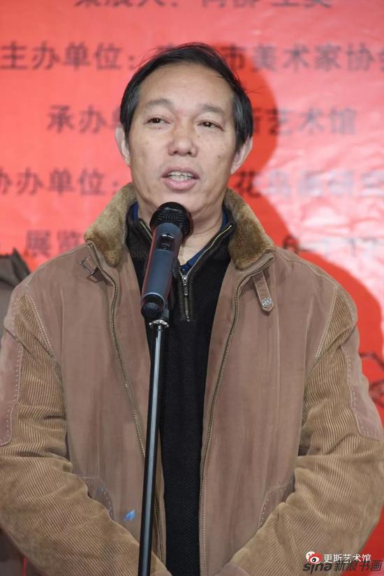 原南京市文广新局副局长徐开利先生致辞!