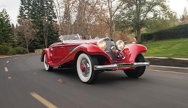 神秘欧洲收藏家专注奔驰古董车 74辆奔驰近2亿