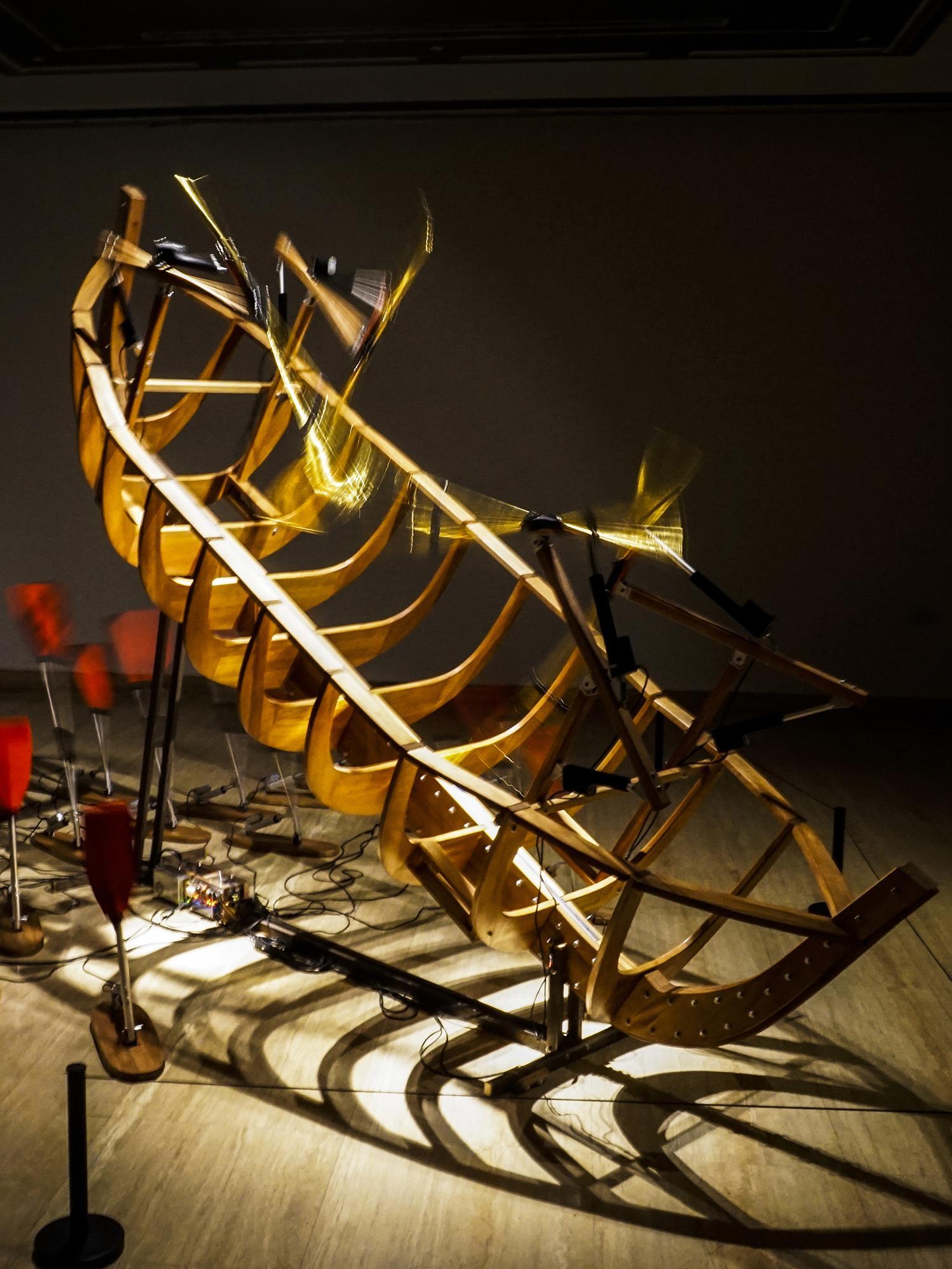 张沐辰  《船 ・ 桨》