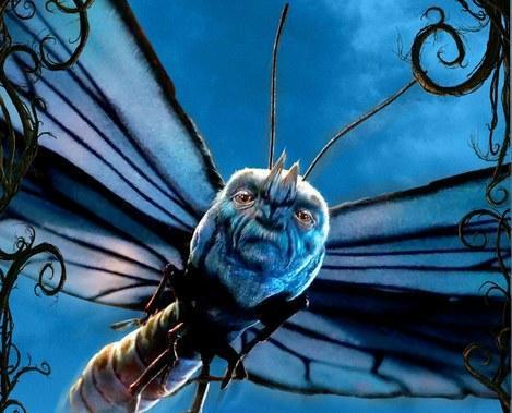 爱丽丝梦游仙境2 发新海报 蓝蝴蝶亮相图片