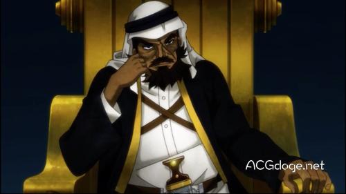 日本与沙特阿拉伯共同制作动画《沙漠骑士》