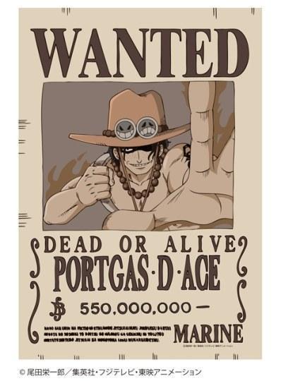 白胡子红发艾斯登场 航海王 第3弹角色通缉令海报发售图片