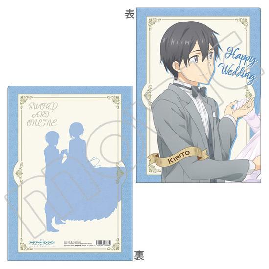剧场版将发售桐人亚丝娜婚礼主题周边图片