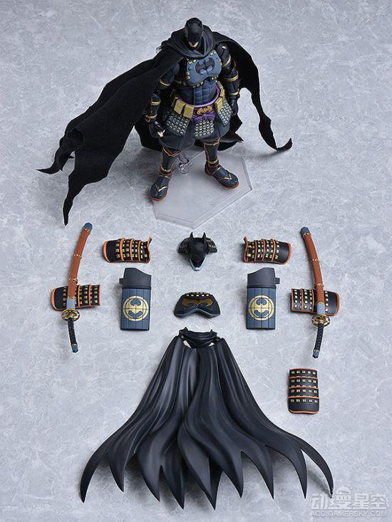 《忍者蝙蝠侠》可动手办:老爷帅气爆棚 玩法多样