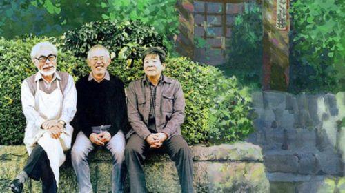高畑勋、宫崎骏和铃木敏夫1985年成立吉卜力工作室