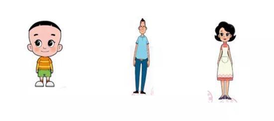 央视动画公司于2014年1月21日进行著作权登记的13版动画片三个主要人物形象