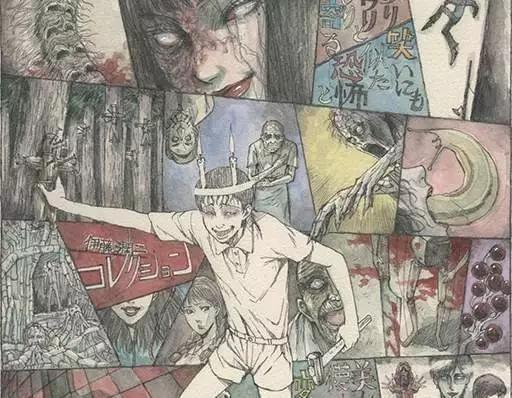 改编自伊藤润二自选杰作漫画集。