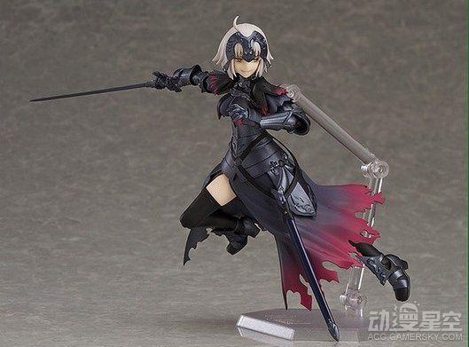《Fate/Grand Order》黑贞德可动手办 霸气、傲娇全收录超满足-TopACG