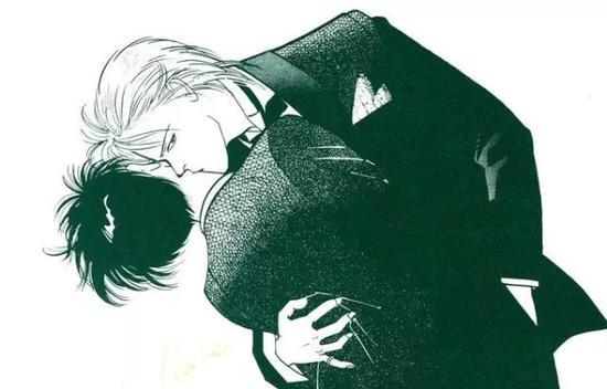 之间_这部漫画,开创了男人与男人之间最浪漫的关系,而它竟然是少女漫!