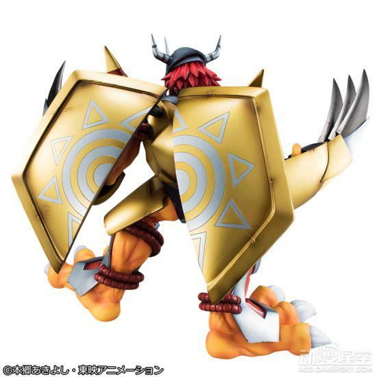 《数码宝贝大冒险》战斗暴龙兽限量手办 最强龙战士气势十足-TopACG
