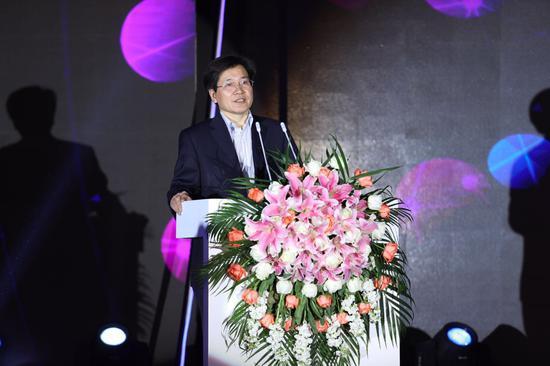 中国动漫集团有限公司党委书记、董事长庹祖海