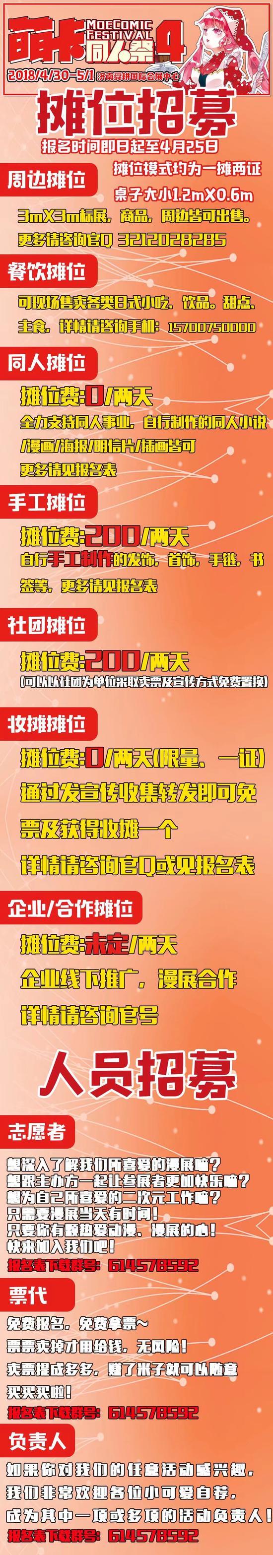 济南萌卡同人祭4一宣大放送!
