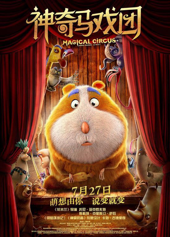 《神奇马戏团》 (中国/英国/西班牙),导演:托尼•班克罗夫特