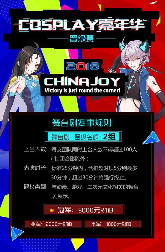 2018 ChinaJoy超级联赛西北赛区晋级赛即将开赛 漫展 第2张