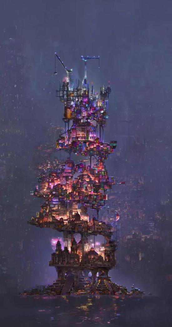 亡灵世界建筑设计