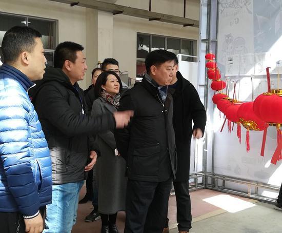 西安市碑林区区长卢光文视察活动