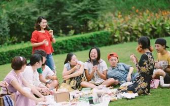广阳枇杷说 跟我们去野餐吧!