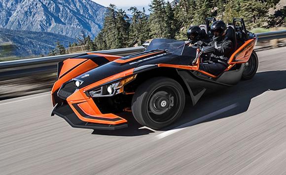 全球最牛三轮车 全新Polaris Slingshot