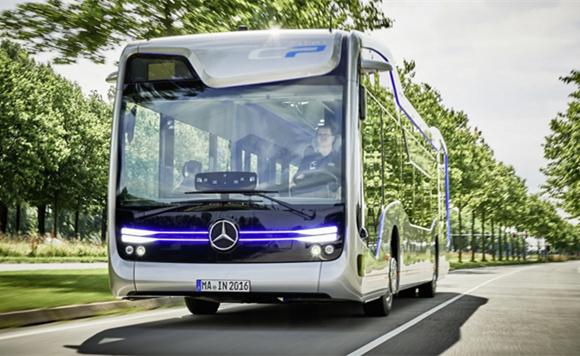 一款实现自动驾驶的Future Bus长这样!