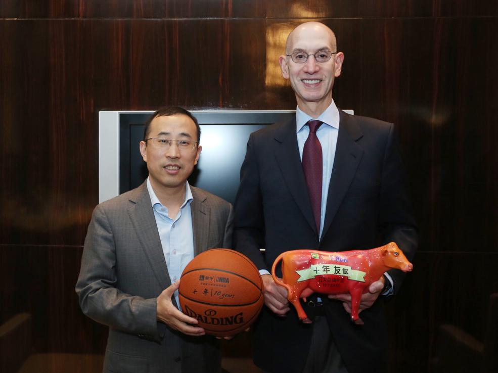 蒙牛NBA合作十年