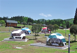 G50冷水服务区自驾营地开园