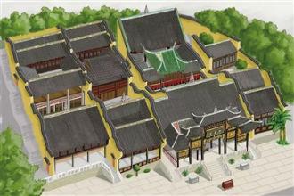 设计师手绘28个重庆传统街区