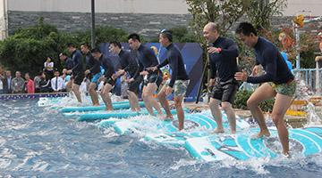 水中运动全新健身方式登陆融汇温泉