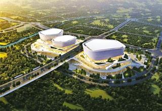 渝北区全民健身中心体育场馆开建
