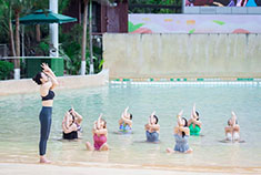 统景温泉瑜伽 塑造美丽身心