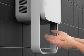 卫生间烘手机让洗净的手重新变脏