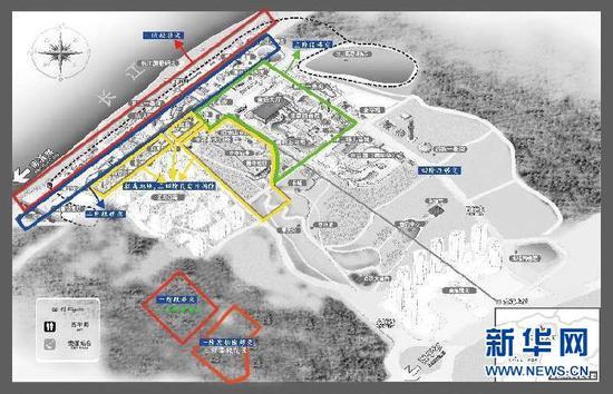 洋人街搬迁计划图。新华网发(受访单位供图)