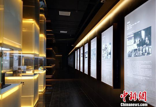 图为重庆抗战戏剧博物馆内景。重庆市话剧院供图