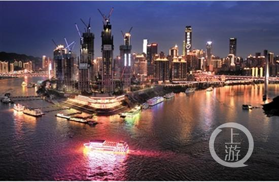 """△""""两江游""""采用电子联网售票,有多个正规购票渠道。上游新闻记者 杨新宇 摄"""