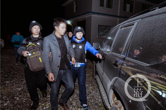 △主要犯罪嫌疑人被抓获