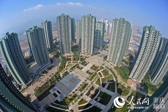 民安华福公租房。重庆市住房城乡建委供图