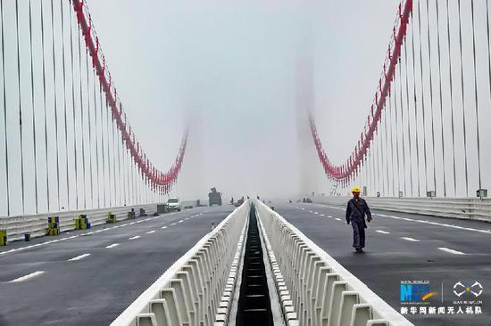 原标题:航拍重庆第一高桥——笋溪河特大桥
