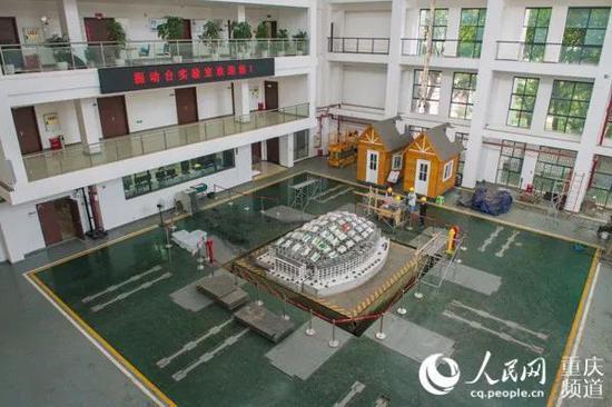 重庆大学振动台实验室