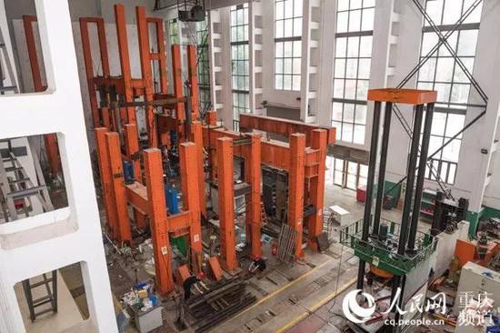 重庆大学结构试验楼